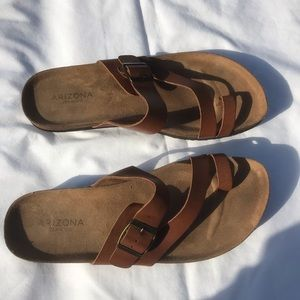 Arizona jean Co women sandals  Sz 8.5